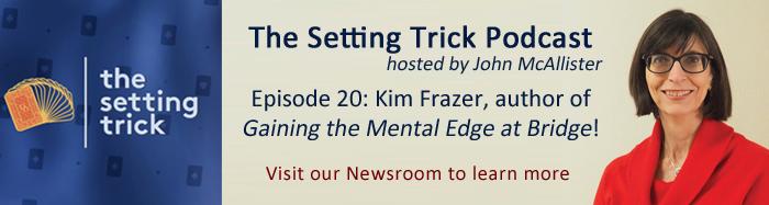 Setting Trick Podcast Episode 20: Kim Frazer